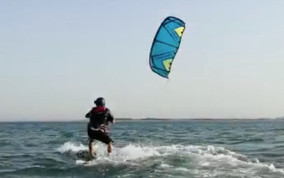 Kite surfing lesson level 3