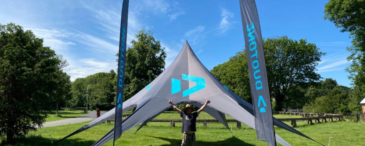 Kite pirates tent
